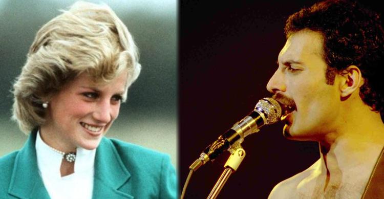 La noche en que Freddie Mercury vistió de hombre a Lady Di en Londres para entrar a un bar gay