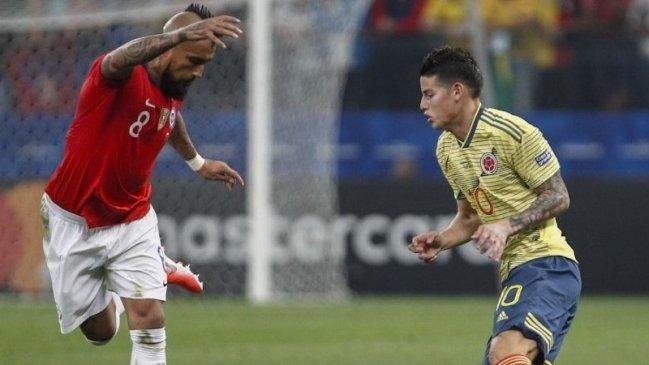 La Roja tendrá un duro apretón ante Colombia en busca de sus primeros puntos en Clasificatorias