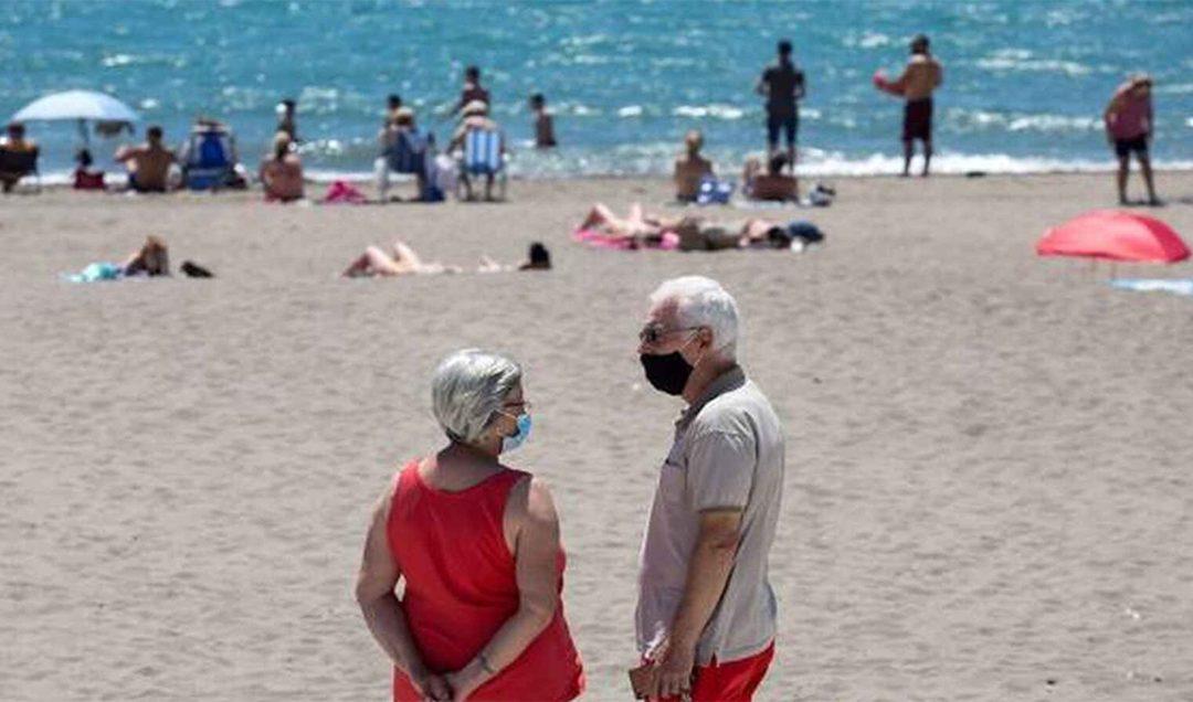 Chile impone el uso obligatorio de la mascarilla en playas y balnearios