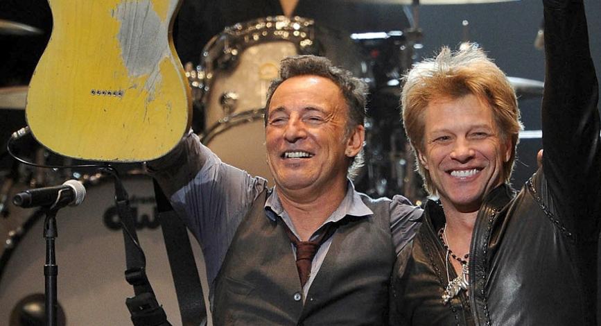 """Jon Bon Jovi y Bruce Springsteen protagonizan campaña publicitaria para """"combatir"""" el Covid-19"""