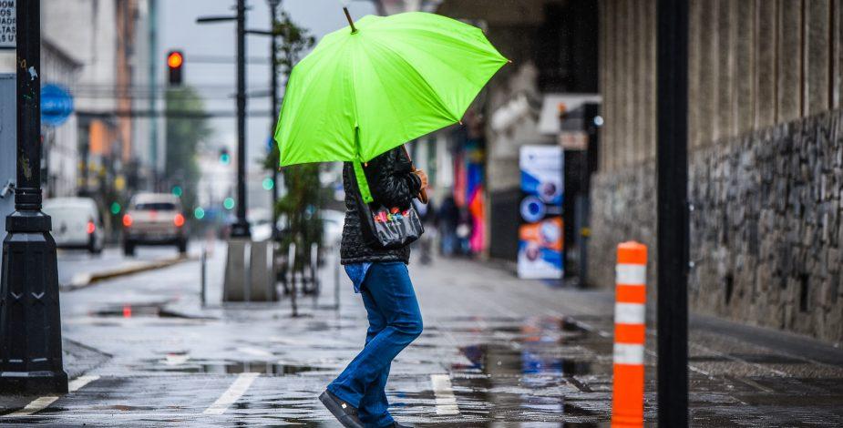 Más de 30,4 mm de lluvia caída en un día: Así fue el balance del sistema frontal que afectó al país
