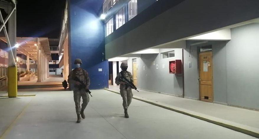 Elecciones: 22 mil efectivos de las Fuerzas Armadas se desplegaron en los locales de votación del país